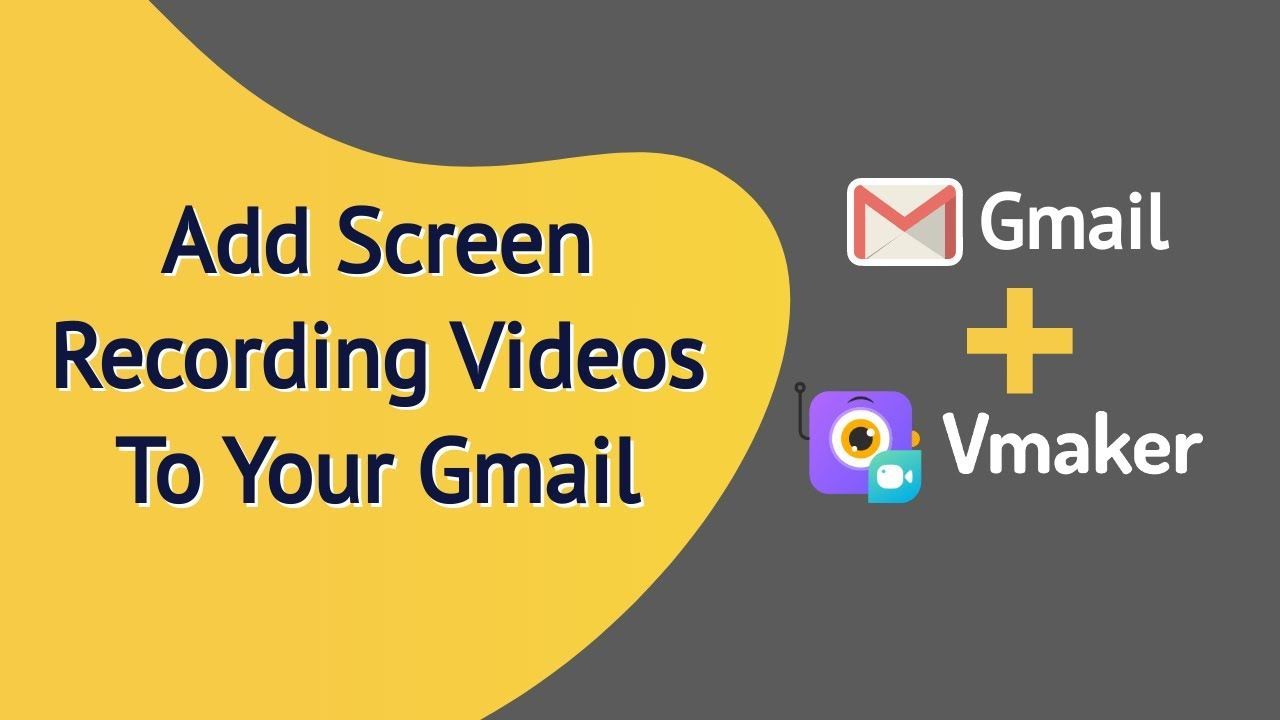 How to email a video with Vmaker?